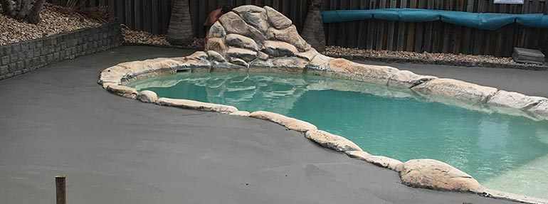 Pool Surrounds | Gold Coast | Walton Concreting